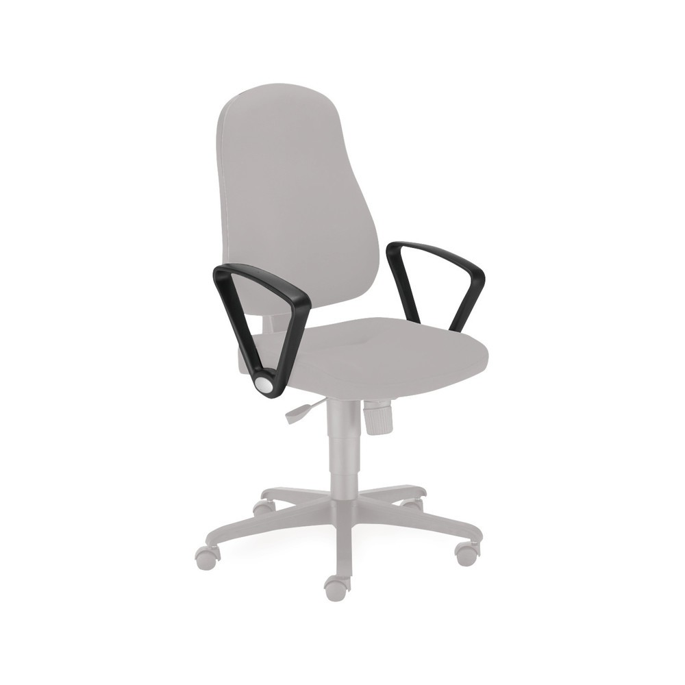 Image of  Aus KunststoffArmlehne für Bürodrehstuhl Bizzi + Bizzi deluxe, fest Armlehne für Bürodrehstuhl Bizzi + Bizzi deluxe, fest
