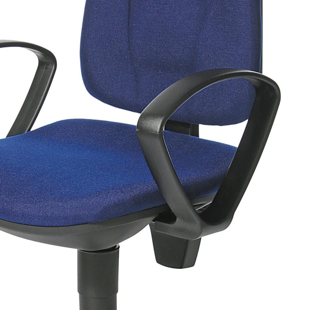 Image of Feste Armlehnen ermöglichen eine korrekte Sitzhaltung Feste Armlehnen unterstützen Sie bei einer gesunden Sitzposition am Schreibtisch. Diese schont Rücken und Bandscheiben und fördert die Gesundheit am Arbeitsplatz. Die Armlehne Topstar® Point 10 und 30