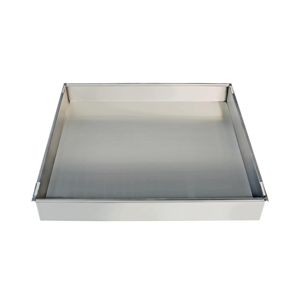 Image of  Tragkraft: 50 kgAuffangwanne für Edelstahlschränke stumpf® mit einer Breite von 900 mm Auffangwanne für Edelstahlschränke stumpf® mit einer Breite von 900 mm