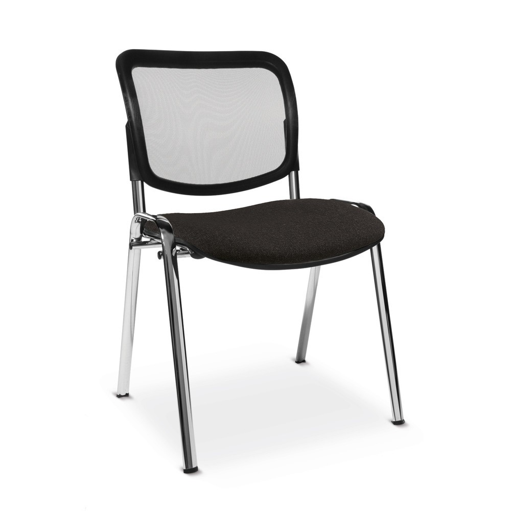 Image of Bequeme Besucherstühle Topstar® für Büro- und Warteräume Mit dem Besucherstuhl Visit schaffen Sie zusätzliche Sitzgelegenheiten für Kunden und Gäste. Der Stuhl mit Muldensitz bietet auch bei längerem Sitzen hohen Komfort. Der Stuhl verfügt über ein stabil