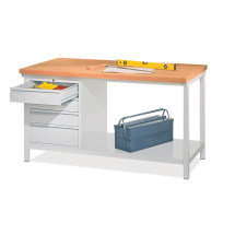 Werkbank mit Schublade