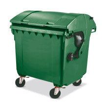 Müllgrossbehälter aus Kunststoff