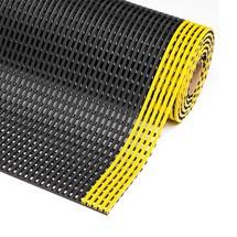 Gittermatte aus PVC als Bodenschutzmatte