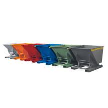 Kippbehälter in verschiedenen Farben