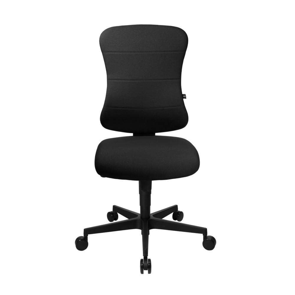 Image of Bequemer Bürodrehstuhl mit Soft-Sandwich-Polsterung Der Bürodrehstuhl Topstar® Art Comfort verfügt über eine extra weiche Rückenlehne mit aufgesetzter Soft-Sandwich-Polsterung. Diese dient zur optimalen Rückenunterstützung und ist in der Höhe durch eine R