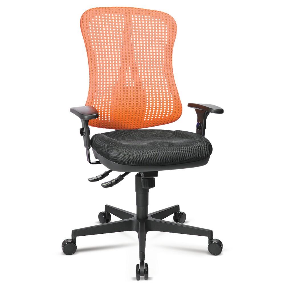 Image of Der Bürostuhl für eine körperfreundliche Sitzhaltung Wenn langes Sitzen bei Ihrer Arbeit alltäglich ist, sind die richtigen Bürostühle enorm wichtig, denn diese unterstützen Sie bei einer gesunden Körperhaltung. Der Bürodrehstuhl Head Point SY sorgt mit s