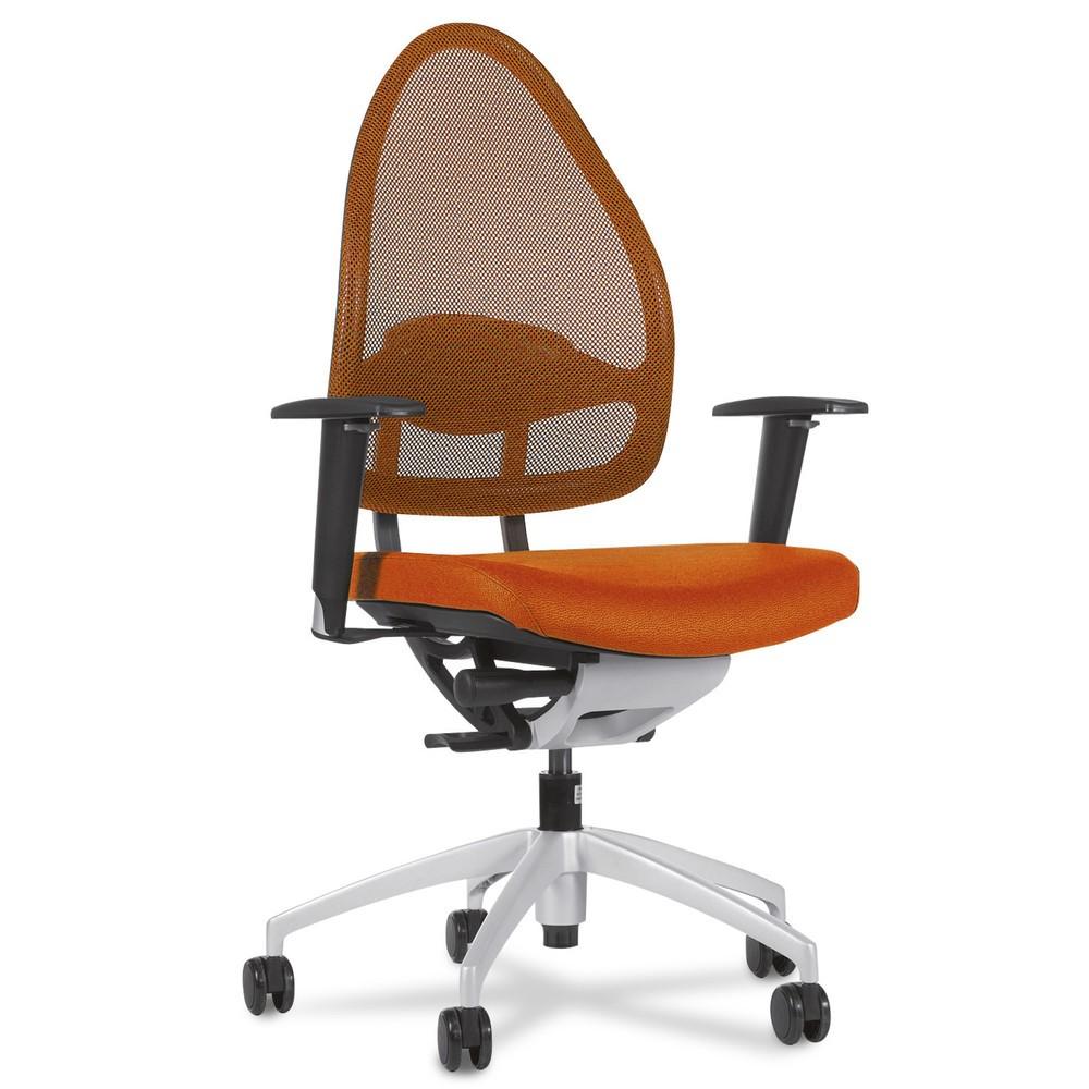 Image of Bürostuhl mit Kopfstütze individuell an Körpergrösse anpassbar Wer seiner Arbeit überwiegend sitzend nachgeht, ist auf einen Bürostuhl mit ergonomisch geformter Lehne angewiesen. Denn diese entlastet den Rücken und ermöglicht eine gesunde Sitzhaltung. Der