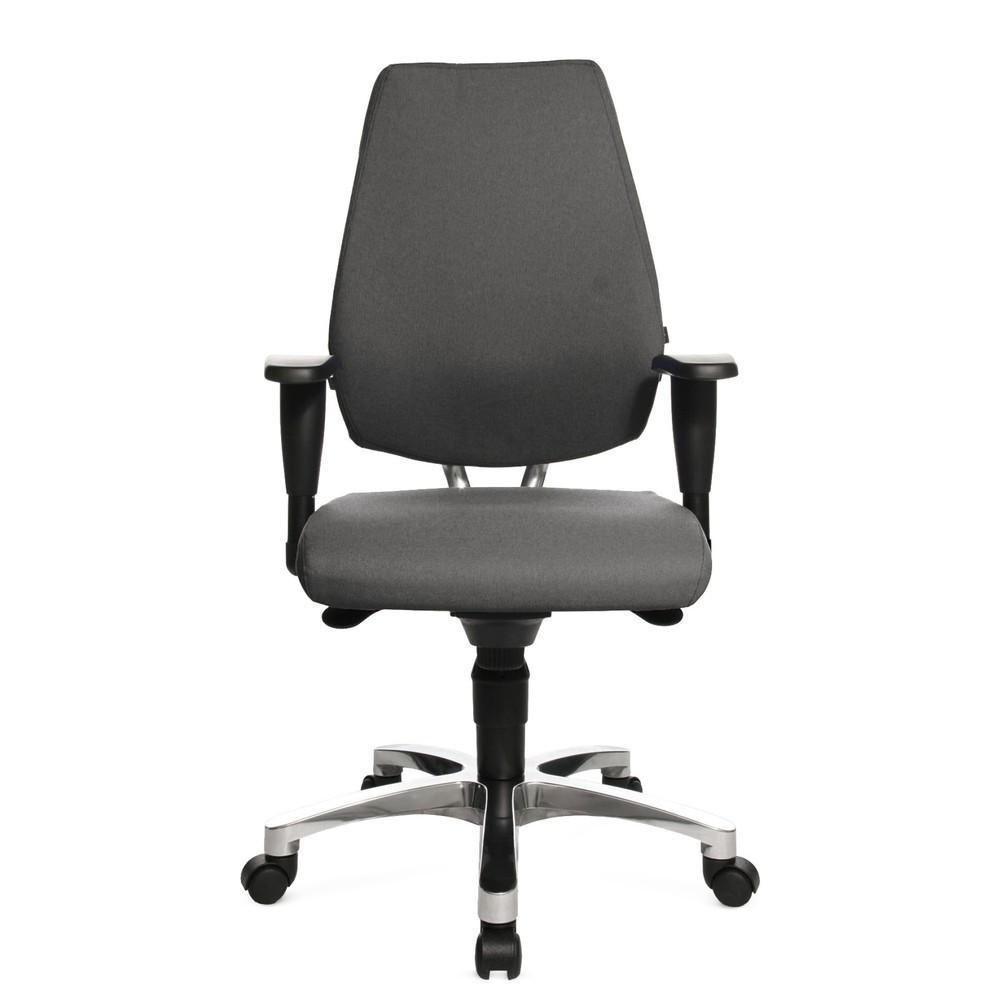 Image of Bürodrehstuhl Ortho 30 mit Synchronmechanik: Verschaffen Sie sich mehr Entlastung und Konzentration bei langem Sitzen Wenn Sie in Ihrem Job viel sitzen müssen, ist dieser flexible Fitness-Drehstuhl die ideale Wahl, um den Rücken zu schonen. Dank verstellb