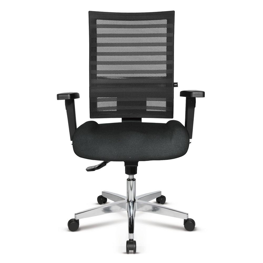Image of Bürostuhl mit Netzrücken für angenehmes Sitzklima Gerade bei heissen Temperaturen erscheint ein Arbeitstag im Büro besonders lang. Ein Bürostuhl, der atmungsaktiv und ergonomisch ist, sorgt für gesundes und angenehm luftiges Sitzen und ermöglicht Ihnen ko
