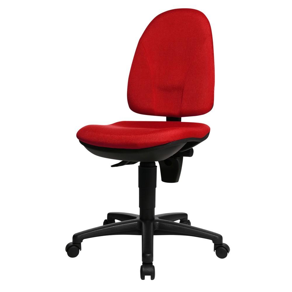 Image of Ein Allrounder in jedem Büro – der Bürodrehstuhl Point 30 Die richtige Sitzposition ist auch Einstellungssache. Deswegen stellen Sie beim Bürodrehstuhl Point 30 sowohl die Neigung der hohen Lehne als auch die Sitzhöhe selbst ein. Auf Wunsch arretieren Sie