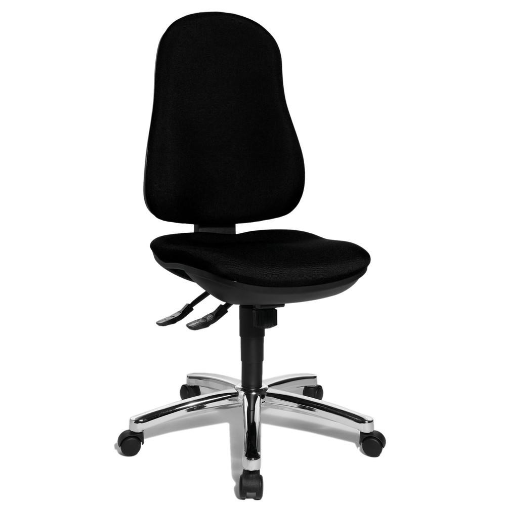 Image of Für einen gesunden Rücken: der Bürodrehstuhl Support Syncro Bei langen Sitztätigkeiten im Büro brauchen Sie einen Bürostuhl, der Ihre Bandscheibe optimal unterstützt und damit schont. Der Bürodrehstuhl Support Syncro mit seiner ergonomisch geformten Rücke