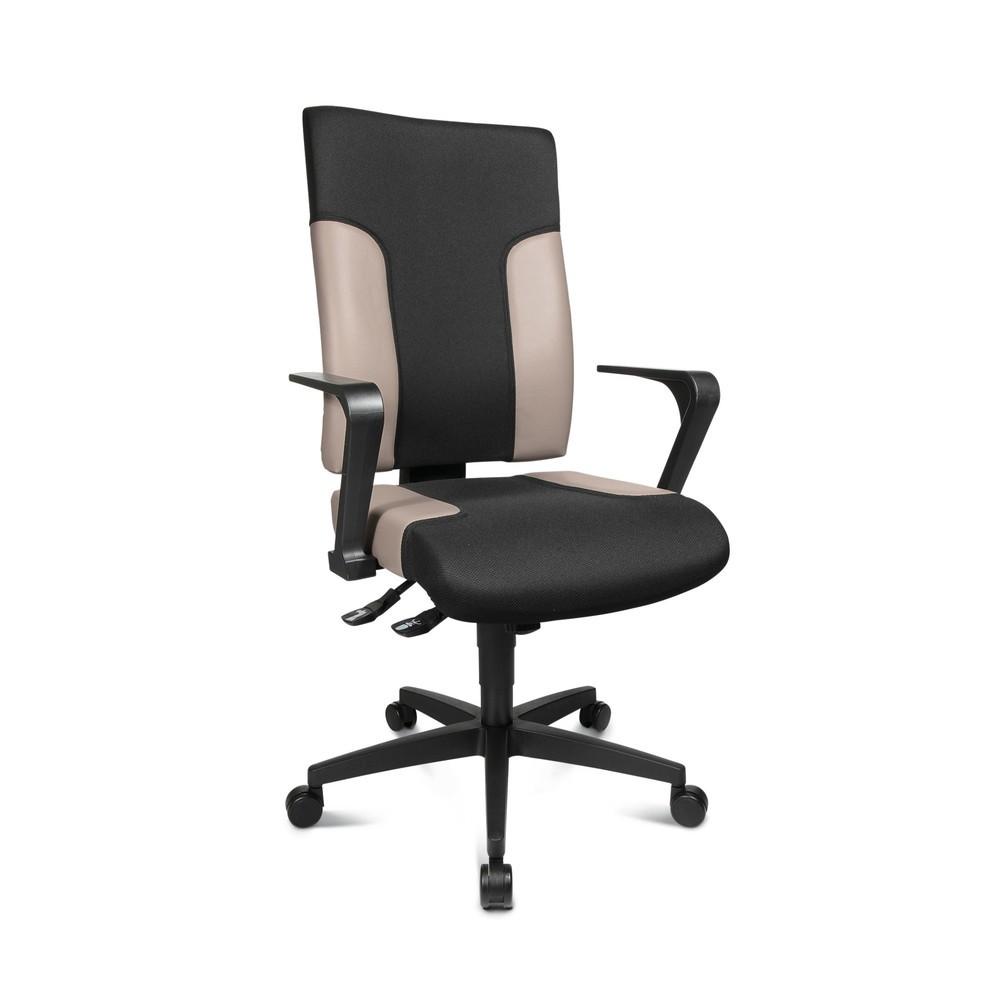 Image of Drehstuhl mit zahlreichen Sitzeinstellungen für ergonomisches Arbeiten Mit einem ergonomischen Schreibtischstuhl fängt effizientes Arbeiten im Büro an – und der Bürodrehstuhl Topstar® TWO 20 bringt viele sinnvolle Features hierfür mit: Seine höhenverstell