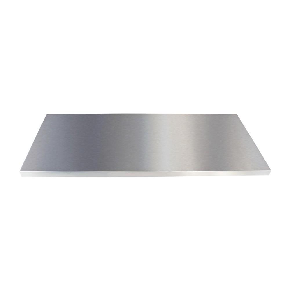 Image of  Tragkraft: 50 kgFachboden für Edelstahlschränke stumpf® mit einer Breite von 900 mm Fachboden für Edelstahlschränke stumpf® mit einer Breite von 900 mm