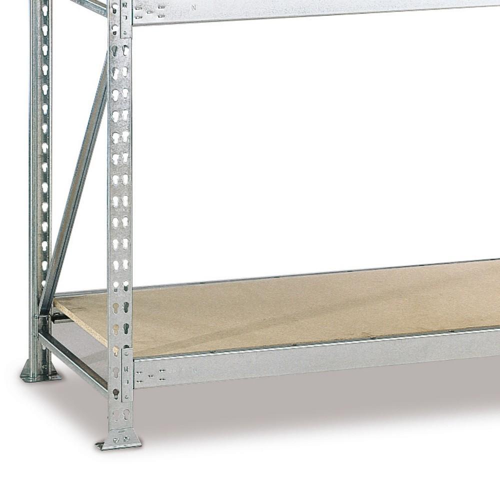 Image of  Tragkraft 600 kgFachboden für Weitspannregal META, mit Spanplatten, FL 600 kg, BxT 1.800 x 1.050 mm Fachboden für Weitspannregal META, mit Spanplatten, FL 600 kg, BxT 1.800 x 1.050 mm