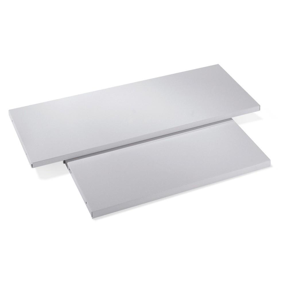 Image of  Erhältlich in unterschiedlichen GrössenFachboden mit ausziehbarer Ablage für C+P Flügeltürenschrank, BxT 1.200 x 400 mm Fachboden mit ausziehbarer Ablage für C+P Flügeltürenschrank, BxT 1.200 x 400 mm