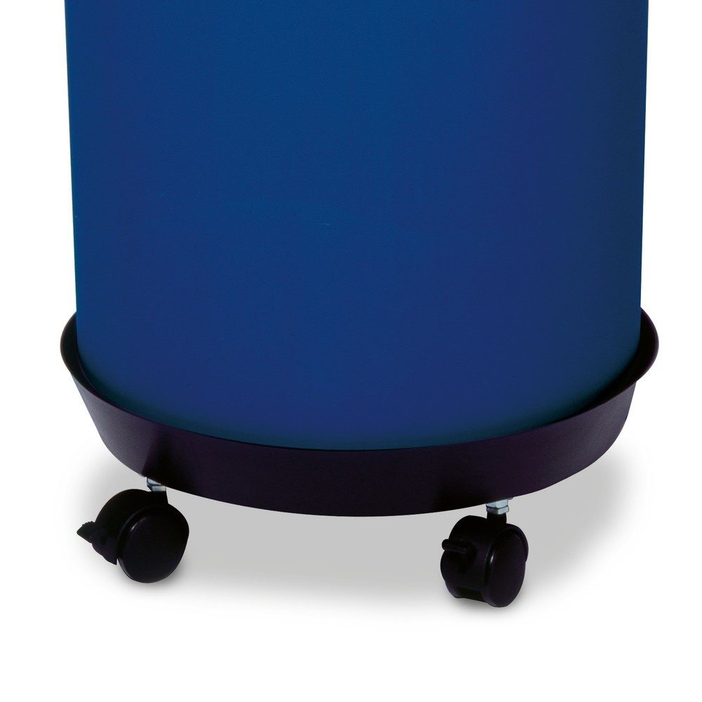 Image of  Aus schwarzem Kunststoff mit 1 kg GewichtFahruntersatz für Abfallsammler VAR® 50 Liter Fahruntersatz für Abfallsammler VAR® 50 Liter