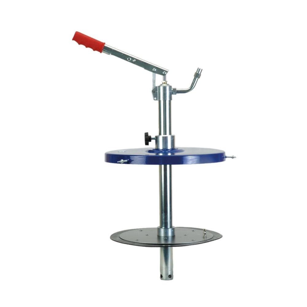 Image of Für eine professionelle Verarbeitung von Schmierfetten Mit dem Füllgerät für Zentralschmieranlagen SAMOA-HALLBAUER FG plus erwerben Sie ein für das Befüllen von Fettpressen aus Fetteimern optimiertes Gerät. Die robuste Konstruktion aus Stahl ist besonders