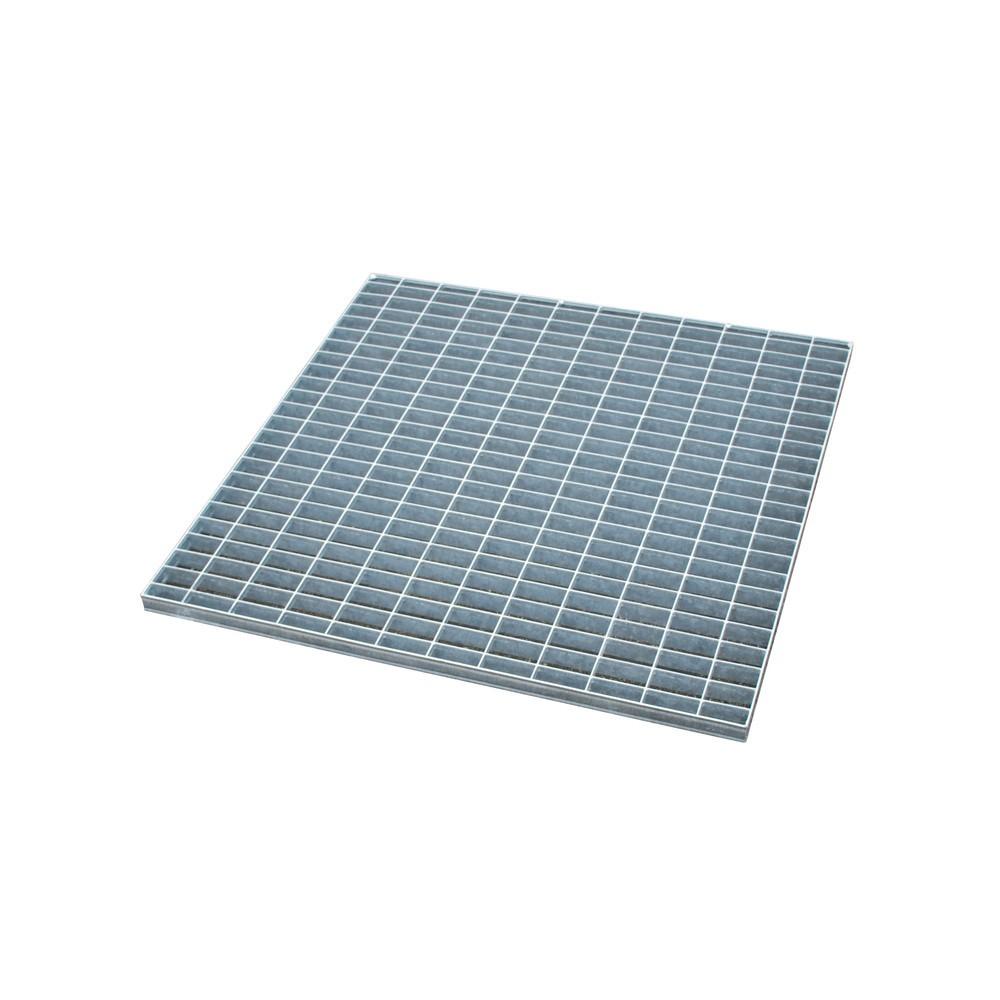 Image of  Für Fässer mit 60–200 l Inhalt geeignetGitterrost für Auffangwanne aus Edelstahl, verzinkt, BxT 800 x 800 mm Gitterrost für Auffangwanne aus Edelstahl, verzinkt, BxT 800 x 800 mm
