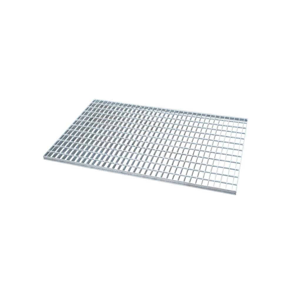Image of  Für Fässer mit 60–200 l Inhalt geeignetGitterrost für Auffangwanne aus Edelstahl, verzinkt, BxT 1.200 x 800 mm Gitterrost für Auffangwanne aus Edelstahl, verzinkt, BxT 1.200 x 800 mm