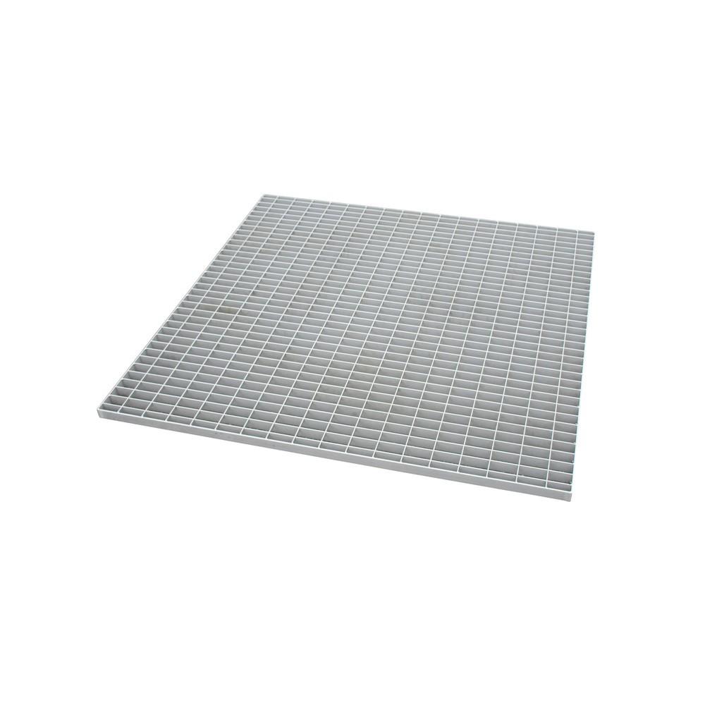 Image of  Für Fässer mit 60–200 l Inhalt geeignetGitterrost für Auffangwanne, Edelstahl, BxT 1.200 x 1.200 mm, 4x 200 l Gitterrost für Auffangwanne, Edelstahl, BxT 1.200 x 1.200 mm, 4x 200 l