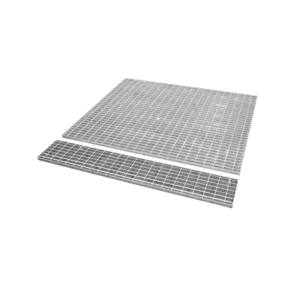 Image of  Für Fässer mit 60–200 l Inhalt geeignetGitterrost für Auffangwanne, Edelstahl, BxT 1.460 x 1.460 mm, 1x IBC Gitterrost für Auffangwanne, Edelstahl, BxT 1.460 x 1.460 mm, 1x IBC