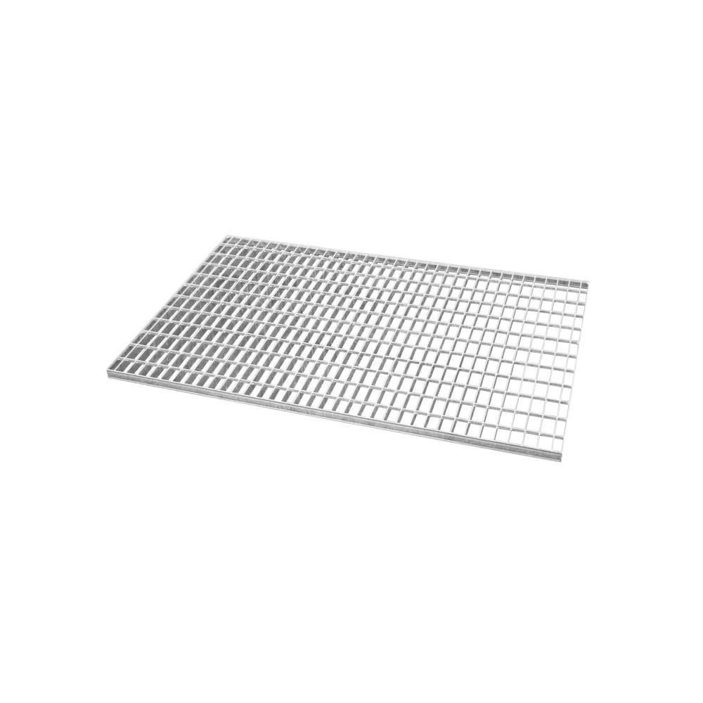 Image of  Für Fässer mit 60–200 l Inhalt geeignetGitterrost für Auffangwanne, Edelstahl, BxT 1.300 x 2.650 mm, 2x IBC Gitterrost für Auffangwanne, Edelstahl, BxT 1.300 x 2.650 mm, 2x IBC