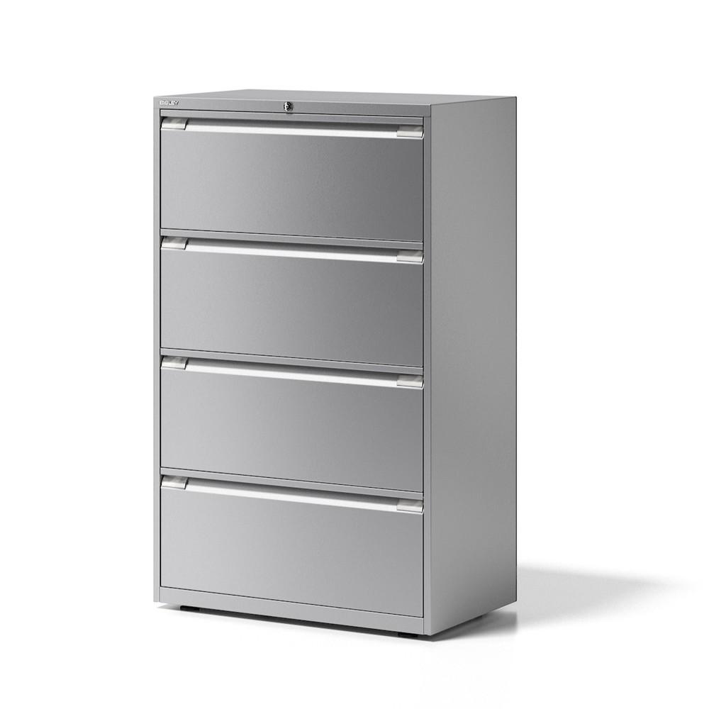 Image of Effiziente Büroorganisation mit dem Hängeregisterschrank BISLEY Essentials Wenn Sie Dokumente sicher und übersichtlich verwahren möchten, ist ein Hängeregisterschrank von BISLEY die richtige Lösung. Der Schrank aus der Serie Essentials kommt wahlweise mit