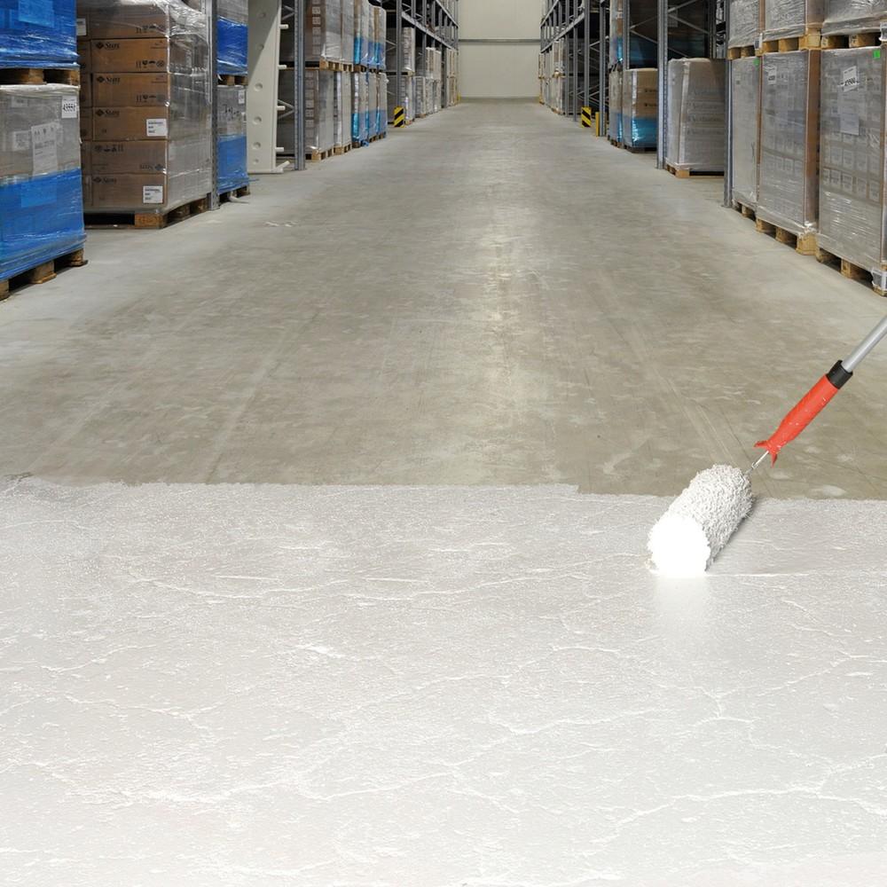 Image of Für rutschsichere Industrieböden: Hallenbeschichtung PROline-paint Anti-Rutsch, 5 l, sehr feine Körnung Mit der Hallenbeschichtung PROline-paint Anti-Rutsch, 5 l, sehr feine Körnung markieren Sie den Nutzungsbereich in Ihrem Betrieb farblich und machen de