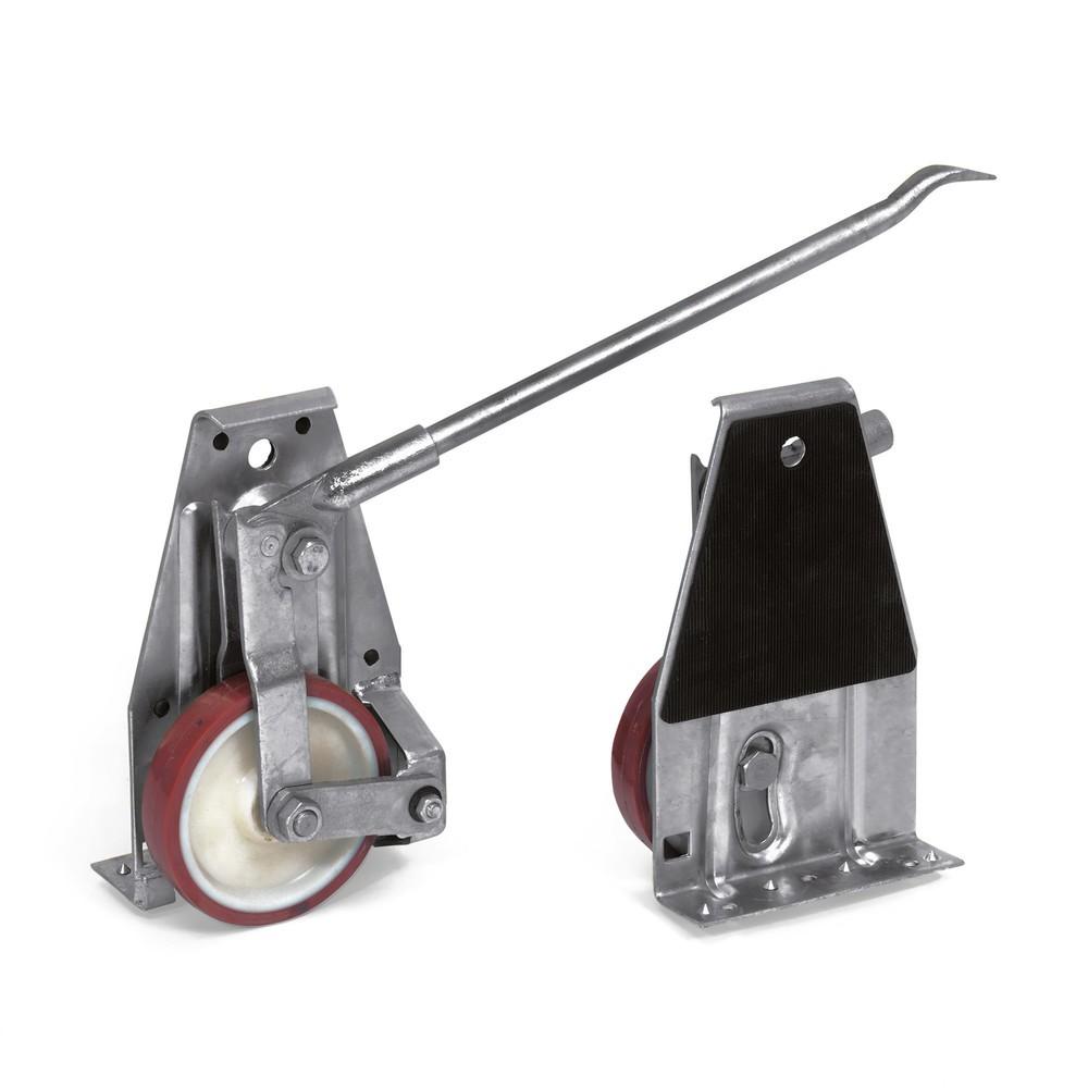 Image of  Bereifung aus leichtläufigem Polyurethan (PU)Hubrollen fetra®, Tragkraft 1.000 kg/Paar Hubrollen fetra®, Tragkraft 1.000 kg/Paar