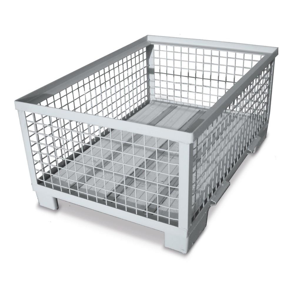 Image of Diese robusten Industrie-Gitterboxen lassen sich platzsparend stapeln In jedem Produktionsbetrieb finden sich Gitterboxen in sämtlichen Varianten. Das liegt daran, dass die Boxen durch ihre widerstandsfähige Verarbeitung, ihre standardisierten Grundmasse
