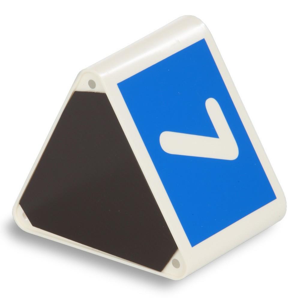 Image of  Mit unterschiedlichen Ziffernfolgen und in verschiedenen FarbenLeitzahlträger-Würfel, Ziffernfolge 1-25, blau Leitzahlträger-Würfel, Ziffernfolge 1-25, blau