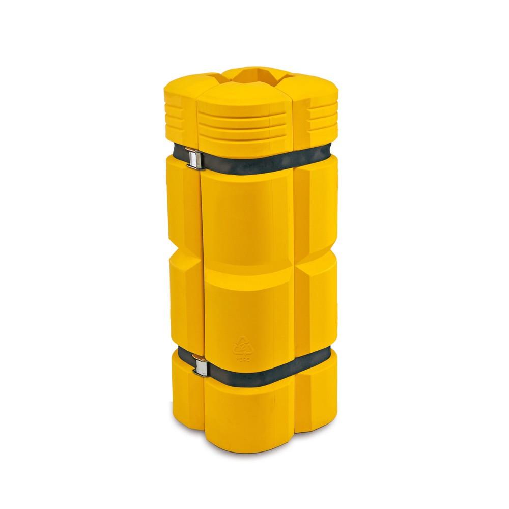 Image of Flexibler und robuster Schutz für Säulen Der Säulen-Anfahrschutz, flexibel schützt Ihre Säulen vor Anfahrschäden durch z.B. Stapler, Flurförderzeuge oder Lastkraftwagen. Der Schutz eignet sich perfekt für Rechtecksäulen. Der Säulen-Anfahrschutz besteht au