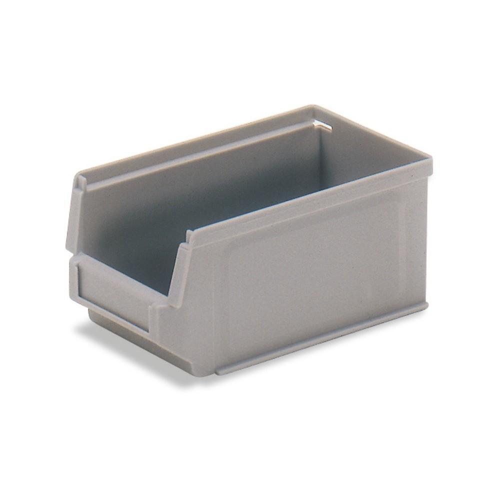 Image of Der Sichtlagerkasten fetra® für verschiedenste Einsatzbereiche Sowohl beim ortsgebundenen Lagereinsatz als auch bei Transporten sind diese Sichtlagerkästen aus Polyethylen und Polypropylen eine funktionale Lösung. Durch den umlaufenden Spezialrand bleiben