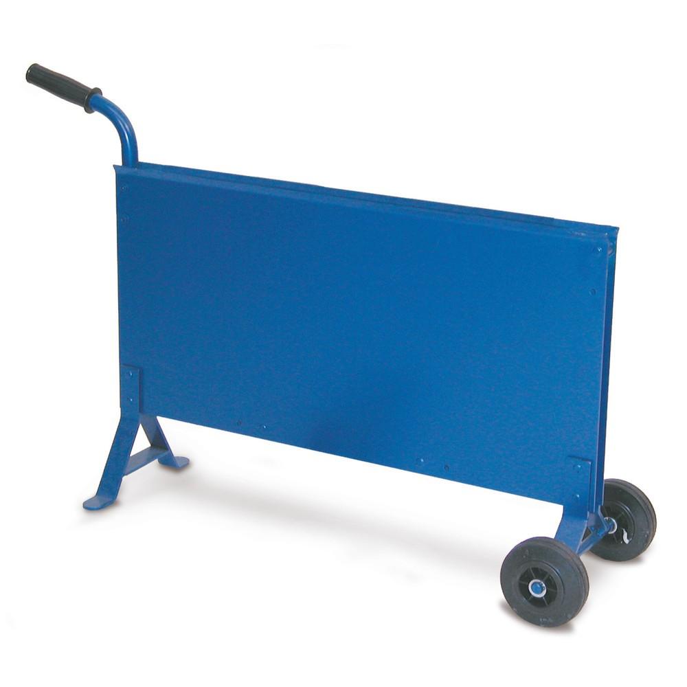 Image of Bandabroller Standard für Stahlbänder – für Werkstatt und Baustelle Dieser Stahlbandabroller ermöglicht Ihnen den einfachen Transport von Stahlbandrollen. Sie können in den Ablagekasten Rollen mit einer Bandbreite von 16 mm einlegen. Das Gestell des Banda