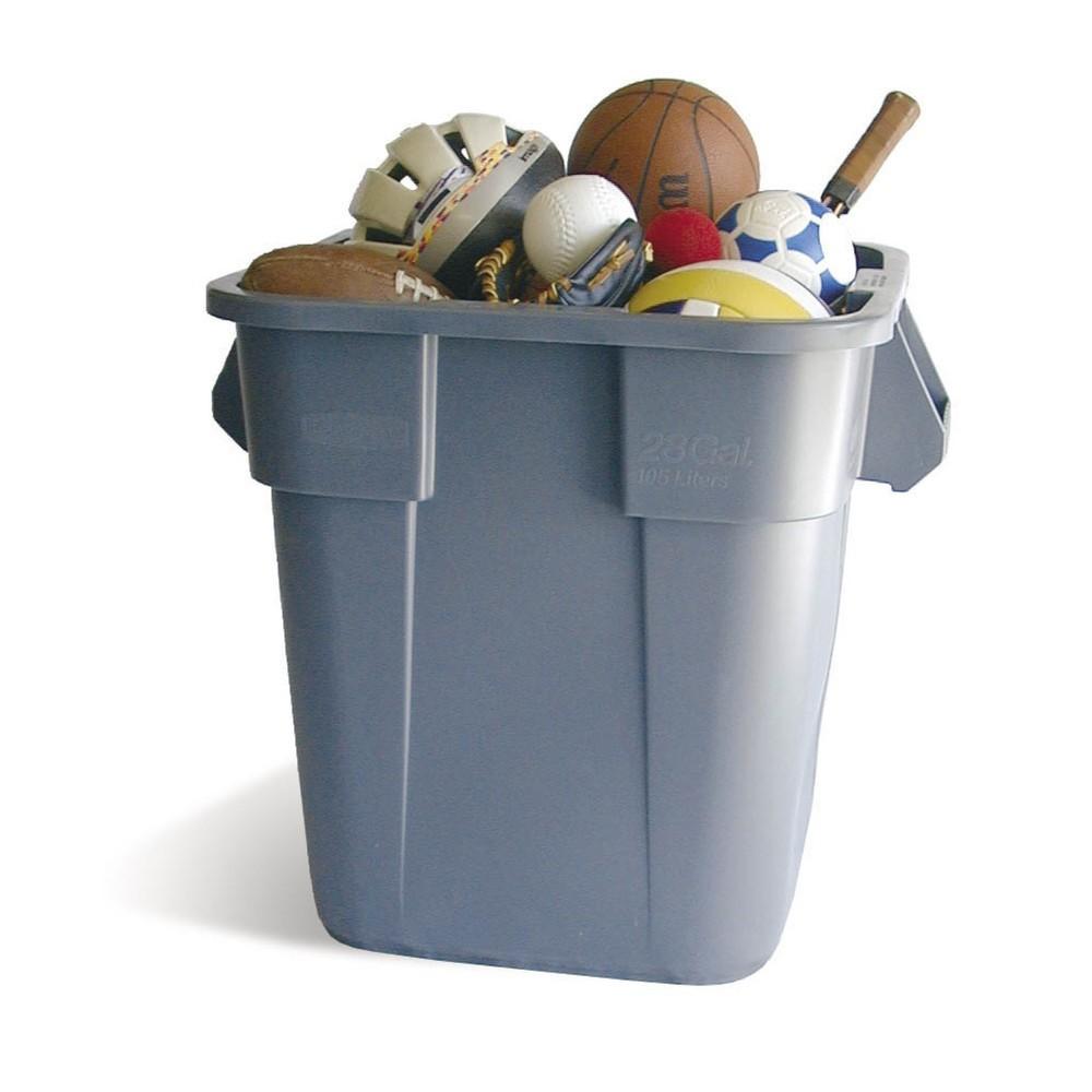 Image of Universalcontainer Rubbermaid® aus Kunststoff für den rauen Alltagseinsatz Dieser Universalcontainer sammelt Ihre Abfälle bis zur endgültigen Entsorgung und kann auch zur Aufbewahrung von Gegenständen, Flüssigkeiten oder anderen Materialien genutzt werden
