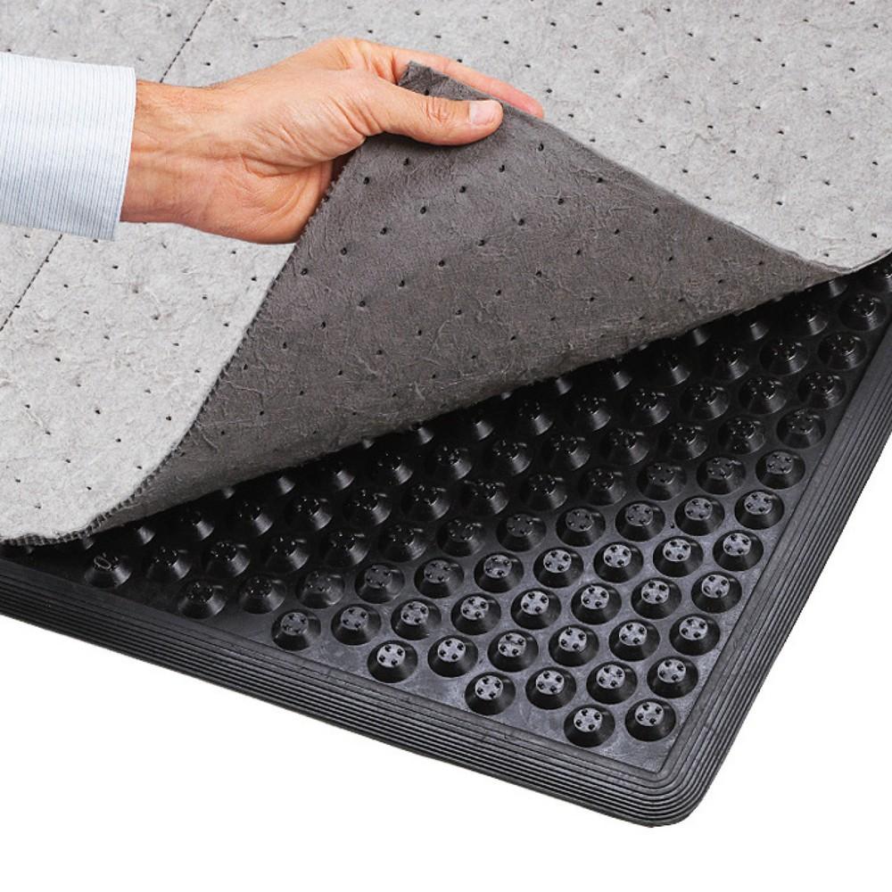 Image of  Als Zubehör bestellbarVlies für Anti-Ermüdungsmatte, BxT 870 x 1.570 mm Vlies für Anti-Ermüdungsmatte, BxT 870 x 1.570 mm