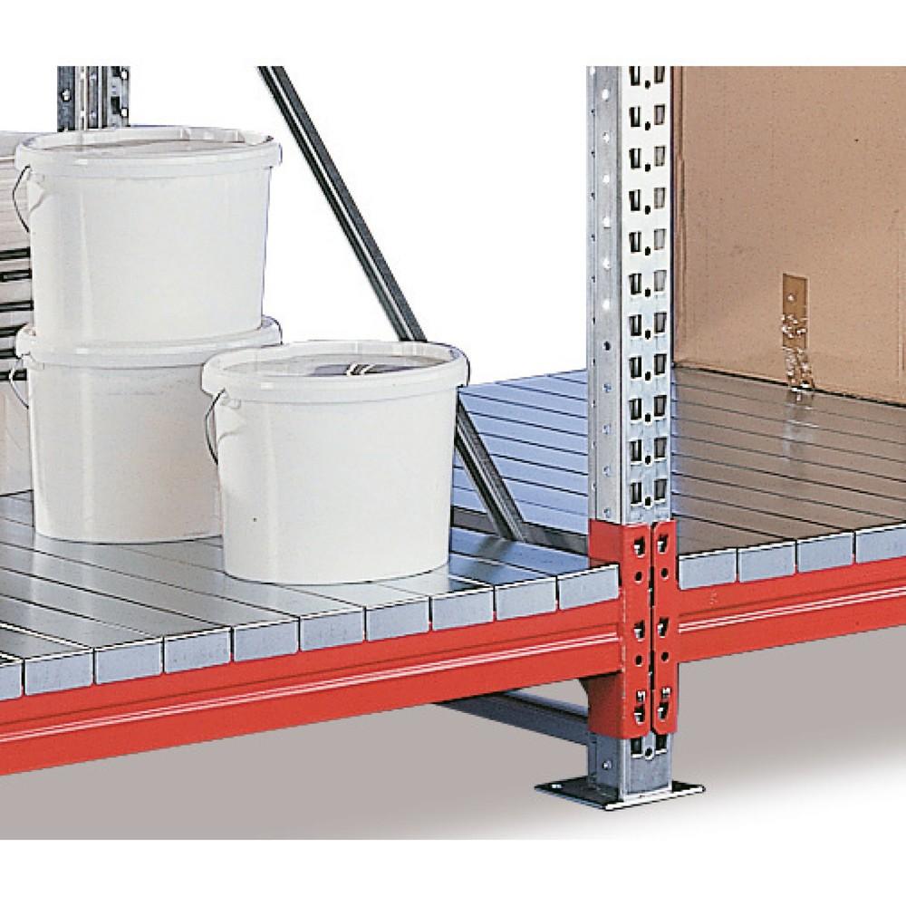Image of  Für Kartonware oder KleingebindeZusatzebene für Weitspannregal META, mit Stahlpaneelen, BxT 1.825 x 1.100 mm Zusatzebene für Weitspannregal META, mit Stahlpaneelen, BxT 1.825 x 1.100 mm